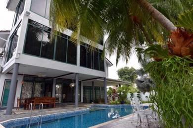Bungalow House cangkat minden lorong gelugor land area 7500sf