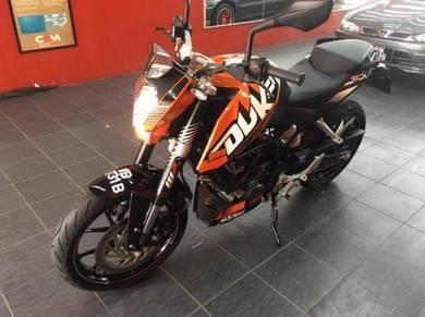 KTM 200 Duke ABS 3900km