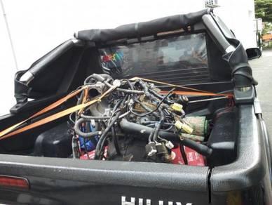 Transport Using 4x4 Hilux