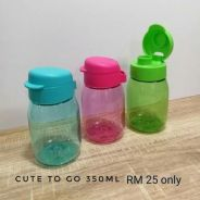 Tupperware water bottle 350ml