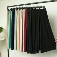 Pleated Bottoms Pants