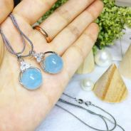 Aquamarine Pendant Necklace