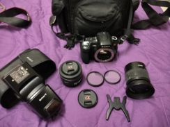 Sony a300 full set