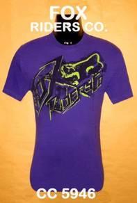 Tshirt SAIZ M - FOX RIDERS CO. : RM13