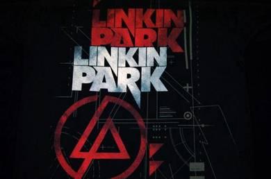 T Shirt LINKIN PARK - Double Logo [L] Slim Fit NEW