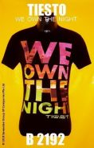 Tshirt SAIZ M - DEEJAY : TIESTO : RMI3