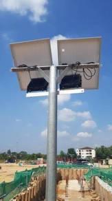 Solar Flood Light Untuk Construction Site