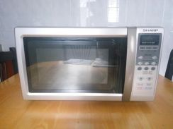[Used] Sharp Microwave Oven R-258L(S)