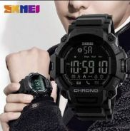 Jam tangan skmei new chrono bluetooth