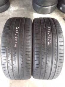 Tayar 275/45/Rim 21 Pirelli.80 %