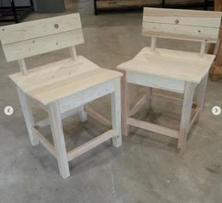 Pallet Pine Wood Unique Chair