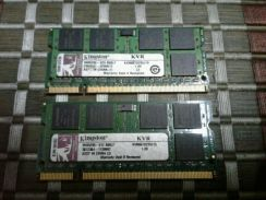 Notebook Laptop DDR2 Ram 1GB 2 Pcs