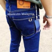 Drts376 fred perry jeans slim fit