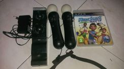 Move Controller+Joystick Charger+CD Game