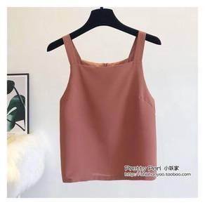 (New)chic sleeveless blouse