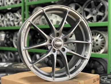 New Ori 18 Leggera HLT Italy Rim Wish GT86 BRZ XV