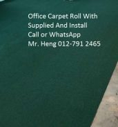 Natural Office Carpet Roll with install gh546