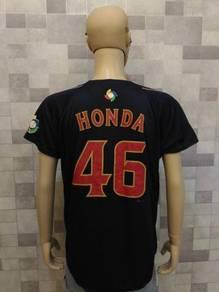 HONDA Japan baseball jersey, fit size L (RoadRun)
