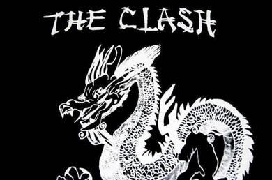 T Shirt THE CLASH - Dragon [S] NEW