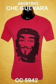 Tshirt SAIZ M - ANONYMUS CHE GUEVARA : RMI3