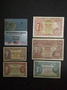 DUIT LAMA: Set of BOCOC 1941