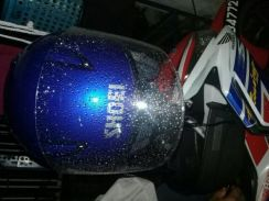 Helmet shoei royal blue