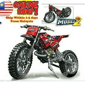 MOTO CROSS BIKE 254pcs Building Blocks Motorcycle