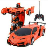 2In1 RC Car Sports Car Transformation Robots Model