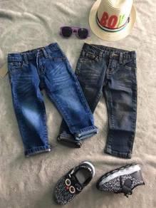 Jeans untuk Kanak2 umur 1-6tahun