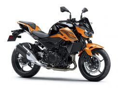 Kawasaki z250 + abs new color