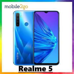 Realme 5 [3GB RAM + 64GB ROM] Ori Msia Set