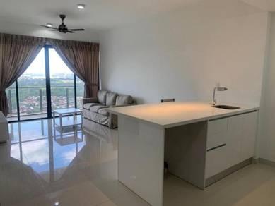 Bora residence Rumah sewa murah 1+1 bed Danga bay Jb town CIQ