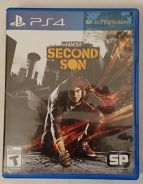 Sony PS4 Disc Game infamous Second Son