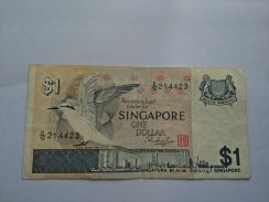 Singapore Old $1 note