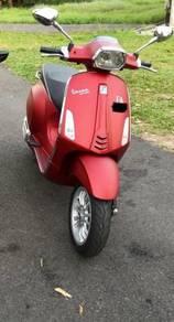 VESPA SPRINT red matte 150i-get 3v ABS