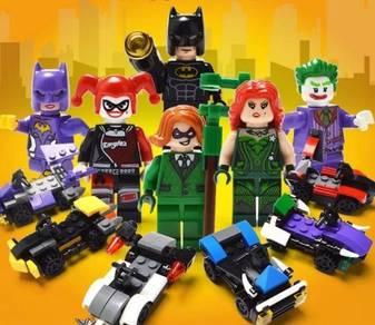 Lego Compatible Batman Movie Egg Suprise Block Set