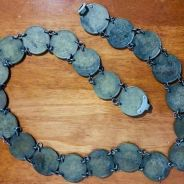 Uk 1930 dollar in china silver coins antiques belt