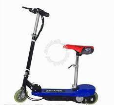 24v kids escooter blue
