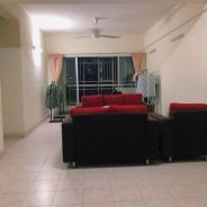 Single room at D'aman Ria Condo