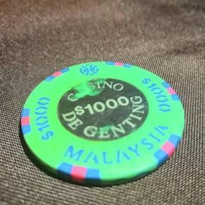 Genting casino 1000 chip