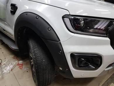 Ford ranger t8 wildtrak fender arch flare flares 6