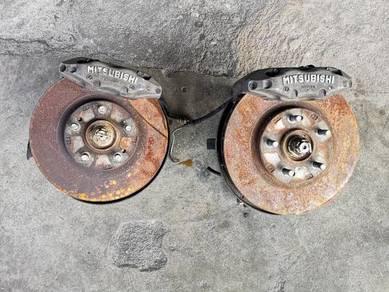 Disc brake set gto 4pot wira satria evo perdana