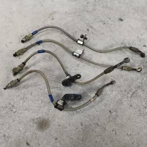 SWAGE steel braided brake hose honda ek9 ej ek
