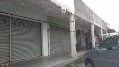 Klebang Restu One Storey Shop behind Aeon