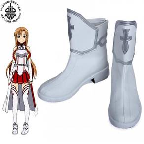 Anime SAO GGO Asuna cosplay shoes
