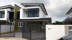 Last End Lot 30 x 80 Freehold Double Storey Rebate Max 25% seremban