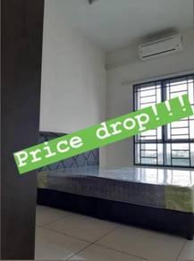 Drop: Rent room, single, full furnished, OUG Parklane, LRT, Klang Lama