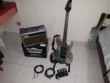 Gitar elektrik barang masih elokk