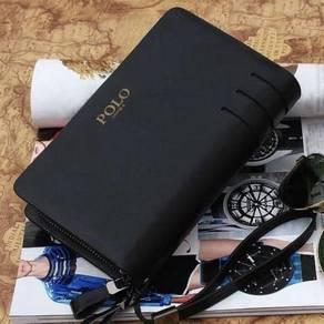 Polo Genuine Leather Men's Wallet Clutch