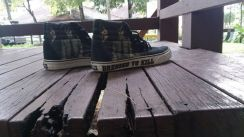 KISS x vans iron maiden bmx